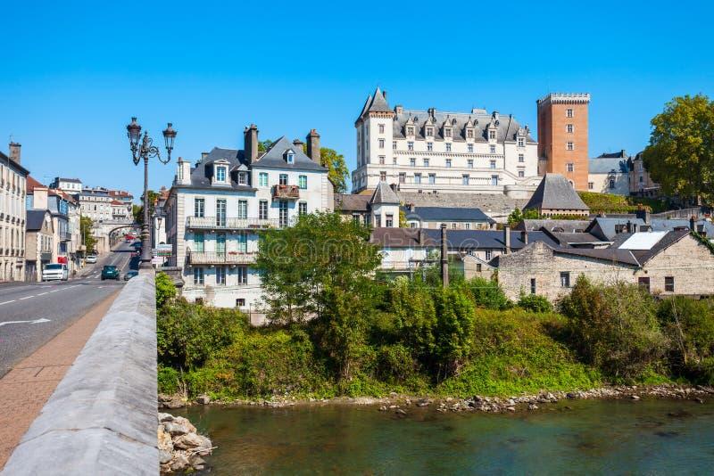 Chateau de Pau castle, France stock image