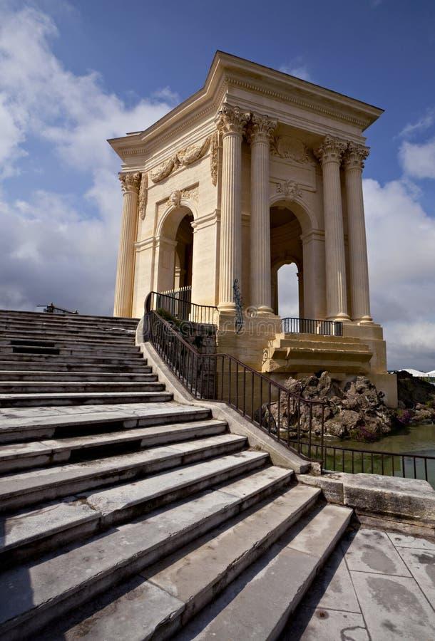 Chateau de Peyrou, Montpellier fotos de archivo