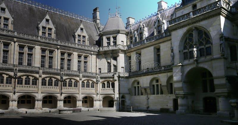 Chateau de Pierrefonds, Pierrefonds, Oise, Francia imagen de archivo libre de regalías