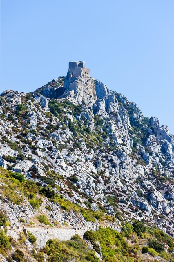 Download Chateau de Queribus stock photo. Image of historical - 22411300
