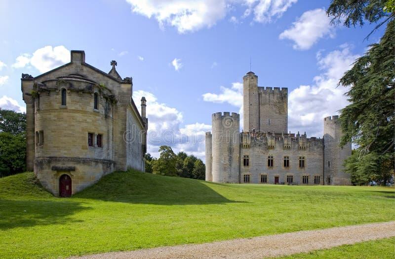 Chateau DE Roquetaillade royalty-vrije stock foto