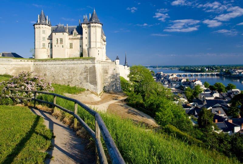 Chateau DE Saumur royalty-vrije stock foto