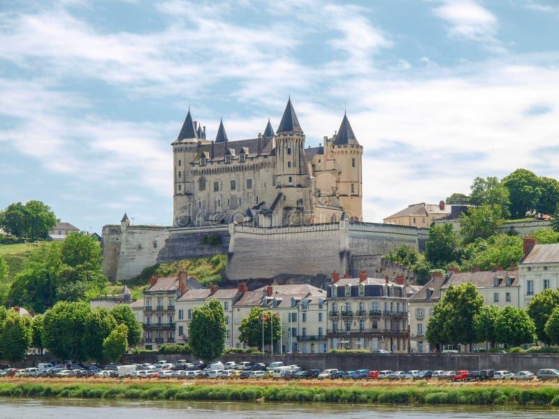 Chateau de Saumur image libre de droits
