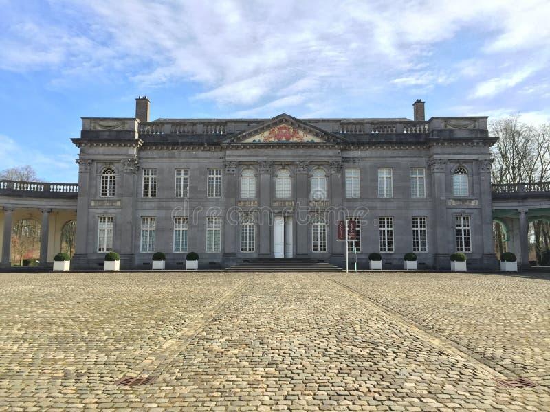 Chateau de Seneffe (Belgien) royaltyfri bild
