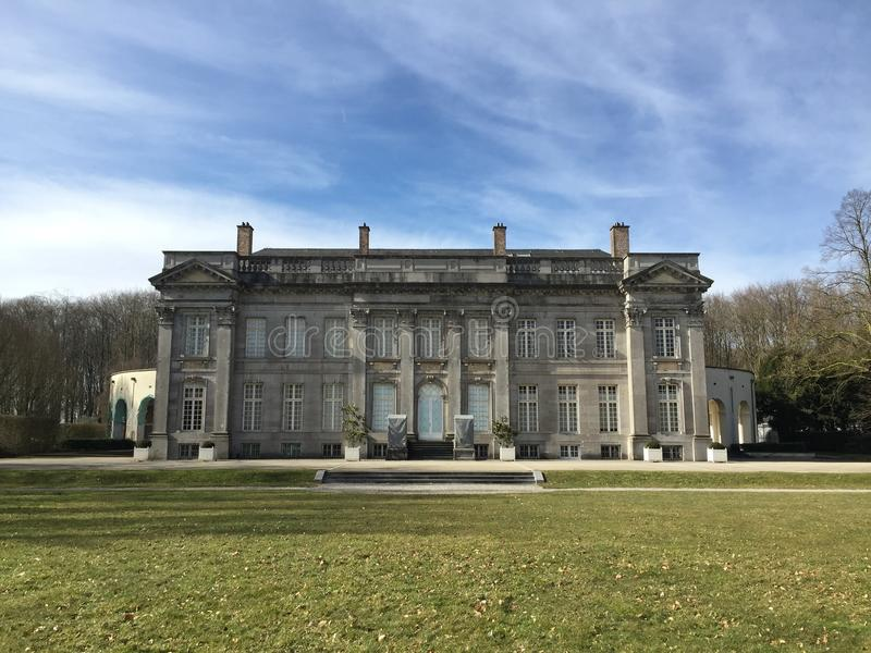Chateau de Seneffe (Belgium) royalty free stock photography