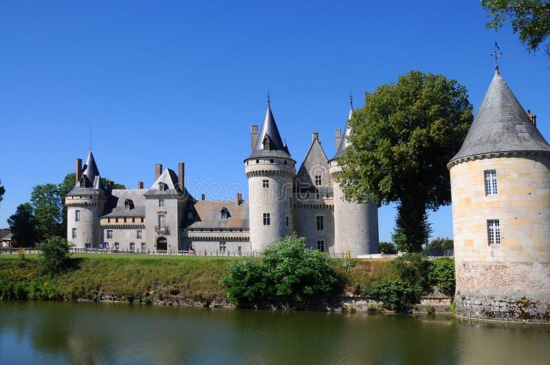 Chateau de Sully在卢瓦尔谷,法国 免版税库存图片