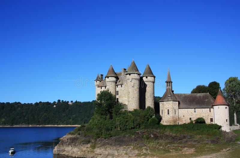 chateau de val στοκ φωτογραφία