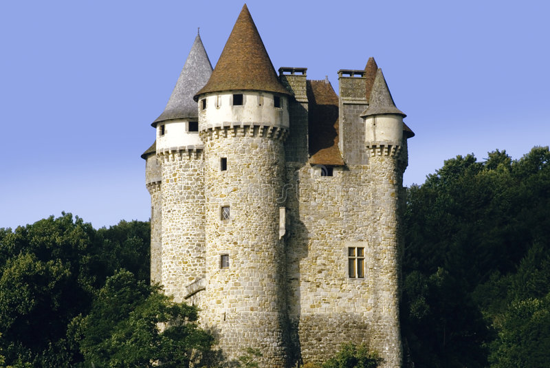 Chateau DE val royalty-vrije stock foto