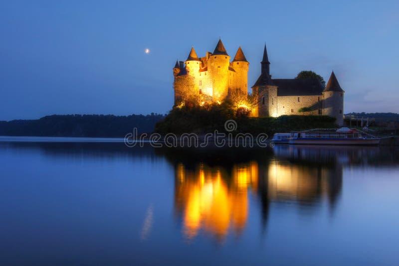 Chateau de Val, Frankrike royaltyfri fotografi