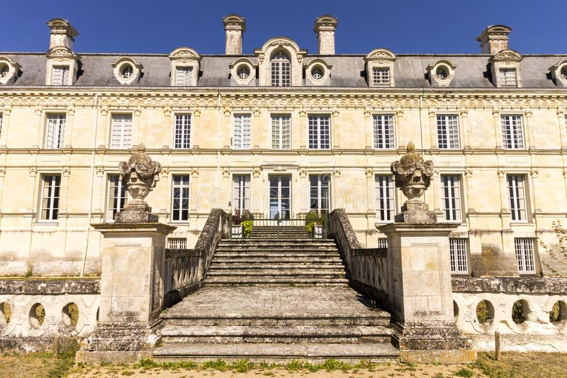 Chateau de Valencay, France photo stock