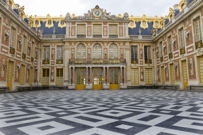 Chateau de Versailles, Frankrike royaltyfria foton