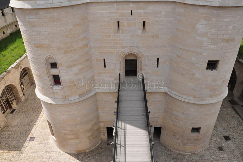 Chateau de Vincennes photo libre de droits