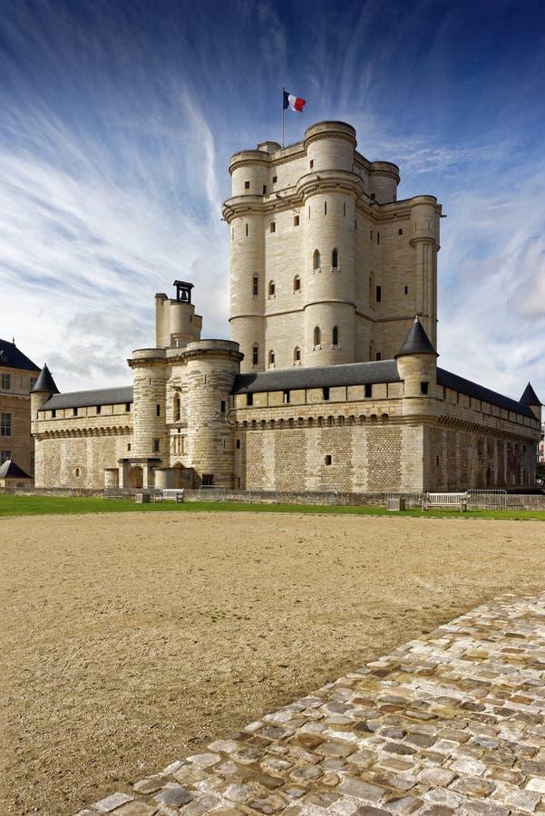 Chateau DE Vincennes in Parijs stock foto's