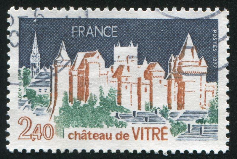 Chateau de Vitre immagini stock