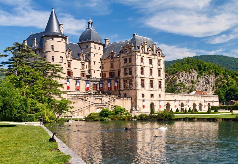 Chateau de Vizille stockfoto