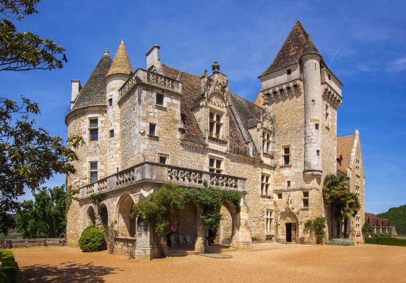 Chateau-DES Milandes lizenzfreie stockbilder