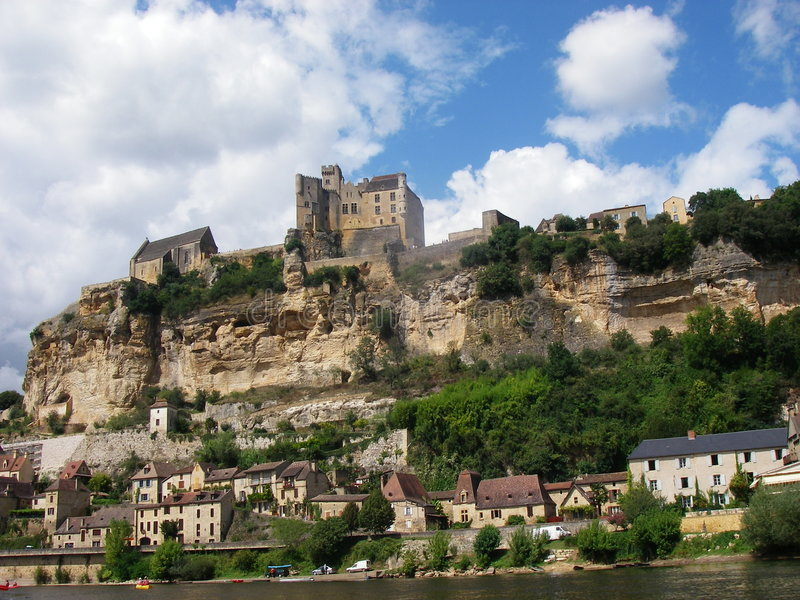 chateau Dordogne France obraz royalty free
