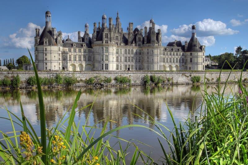 Chateau du Chambord 04, Francia fotos de archivo libres de regalías
