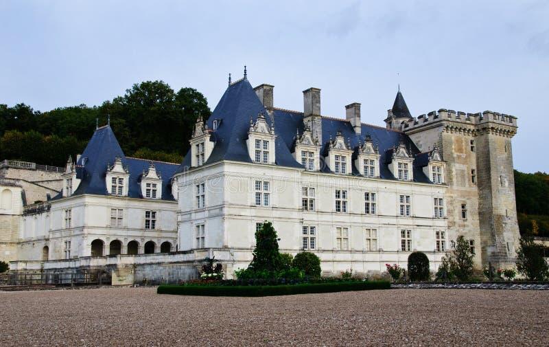 chateau france villandry loire royaltyfri foto