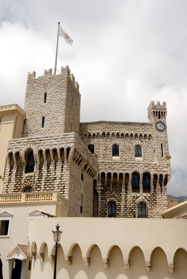 Chateau Grimaldi. The Chateau Grimaldi, France Monaco royalty free stock image