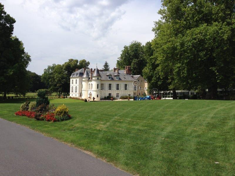 Chateau-Heiliges gerade, Frankreich lizenzfreies stockfoto