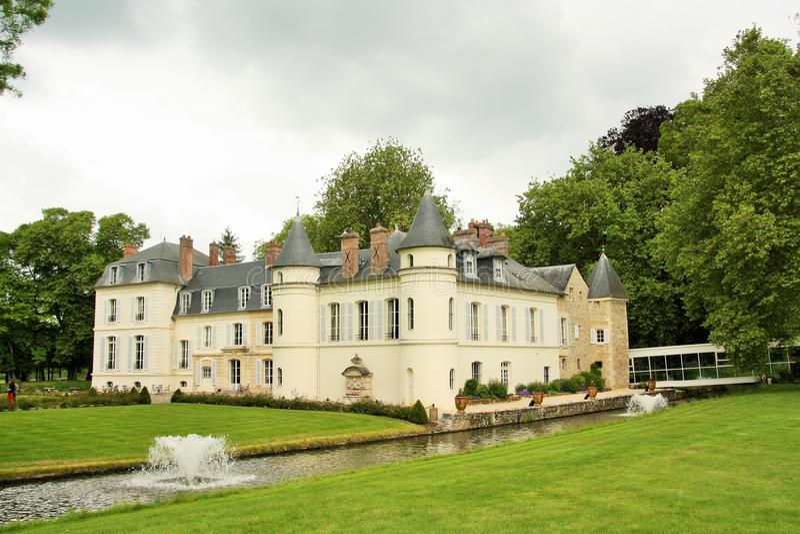 Chateau-Heiliges gerade, Frankreich stockbilder