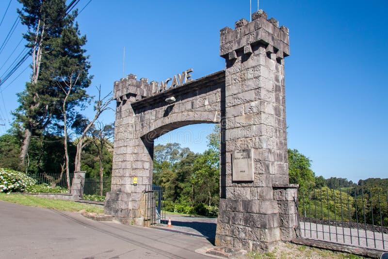 Chateau Lacave Caxias royalty-vrije stock fotografie
