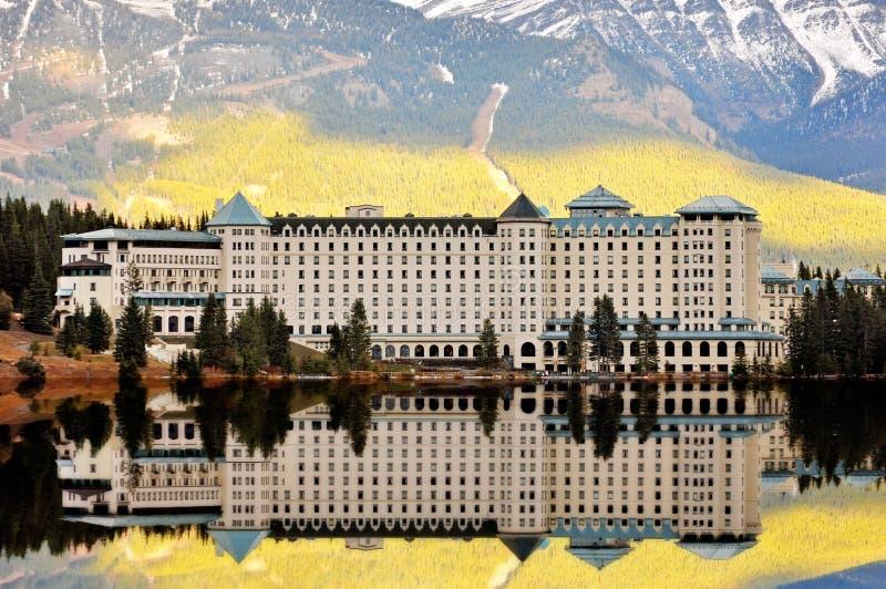 Chateau Lake Louise stock photo