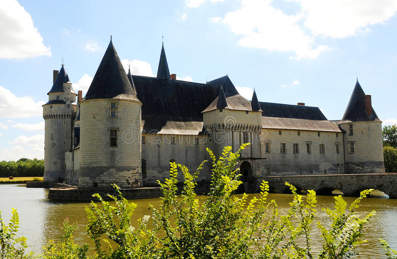 Chateau Le Plessis Bourre. France royalty free stock photos
