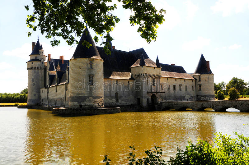 Chateau Le Plessis Bourre. France royalty free stock images
