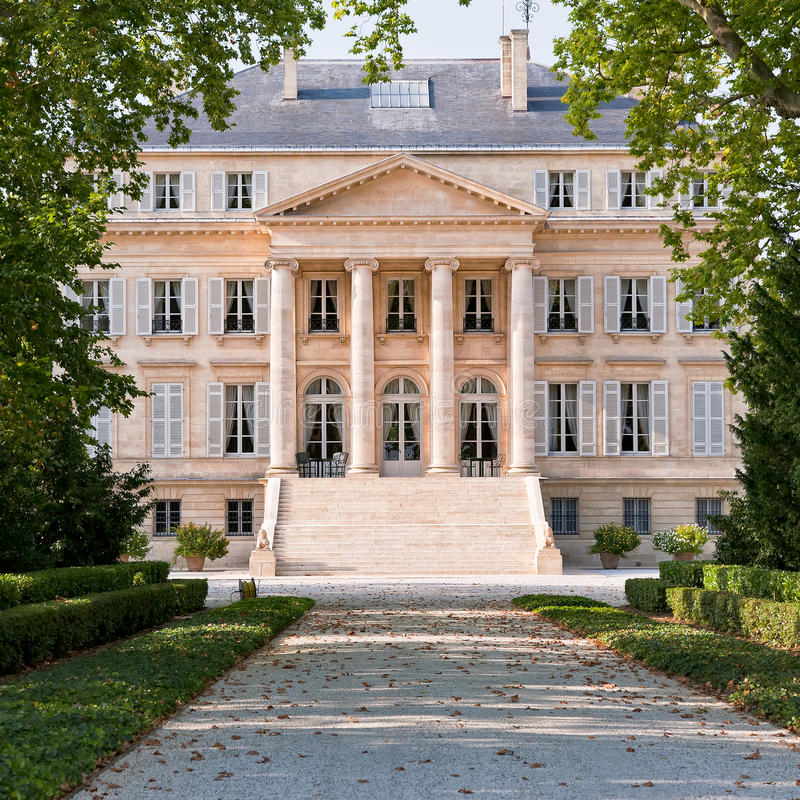 Chateau Margaux fotografia stock