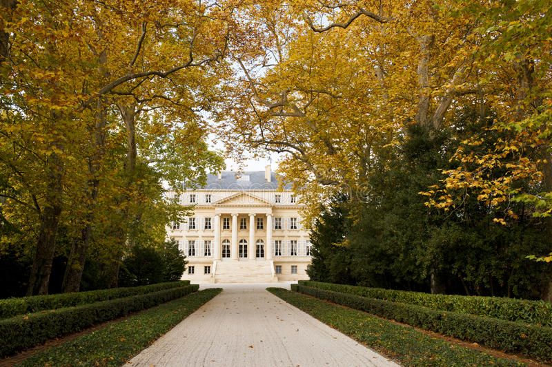 Download Chateau Margaux In Bordeaux, France Stock Photo - Image: 23936772