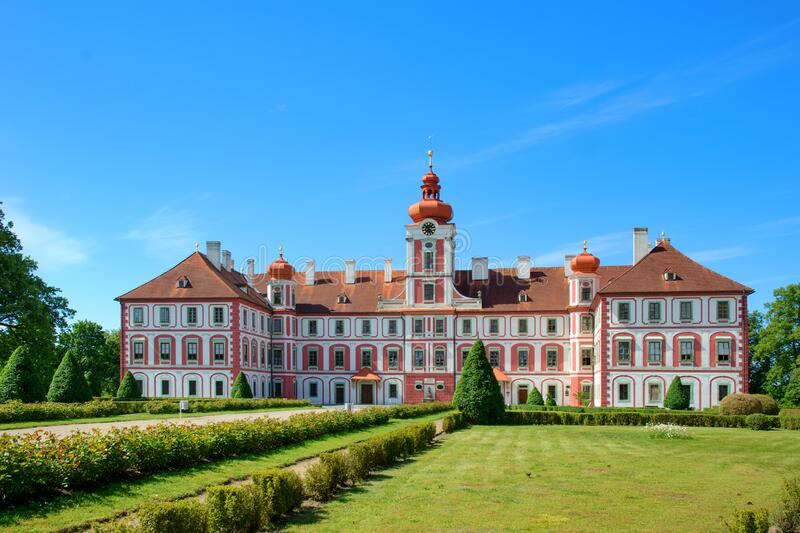Chateau Mnichovo Hradiste royalty free stock photos