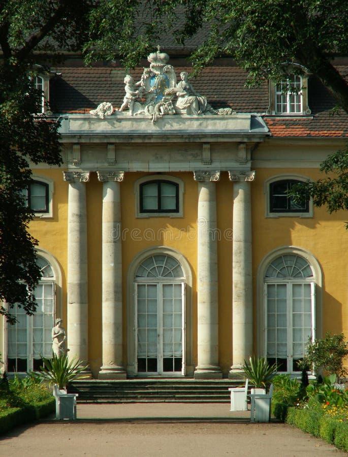 Chateau Mosigkau lizenzfreies stockfoto