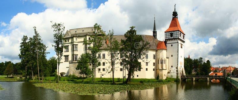 Chateau panorama stock image