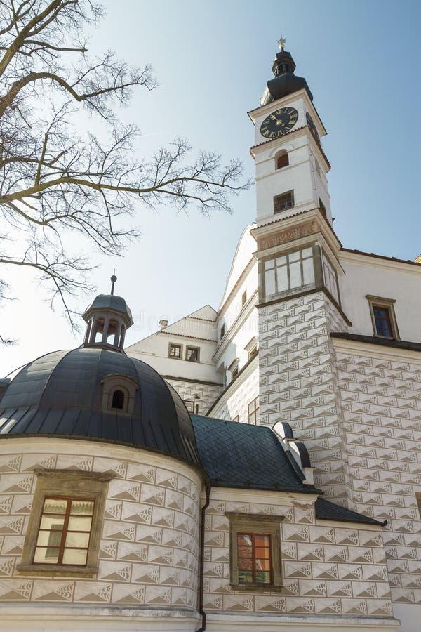 Chateau Pardubice, museo fotografia stock libera da diritti
