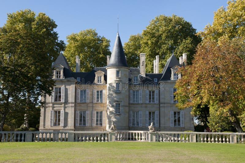 Chateau Pichon-Longueville Comtesse De Lalande Stock Photos