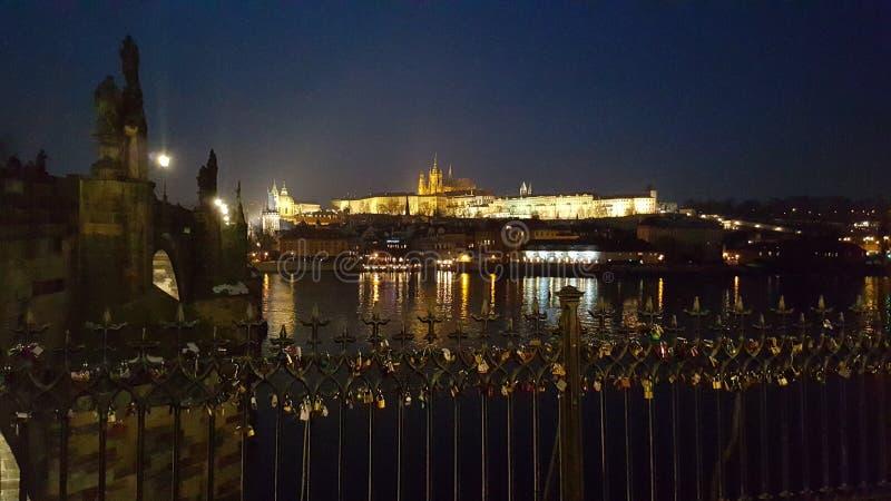 Chateau in Prag stockfotos