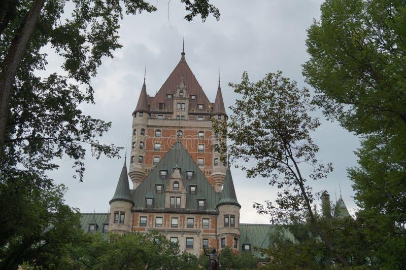 Chateau - Québec-Stadt, Kanada stockfoto