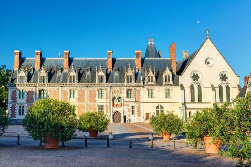 Chateau Royal DE Blois, Frankrijk stock afbeeldingen