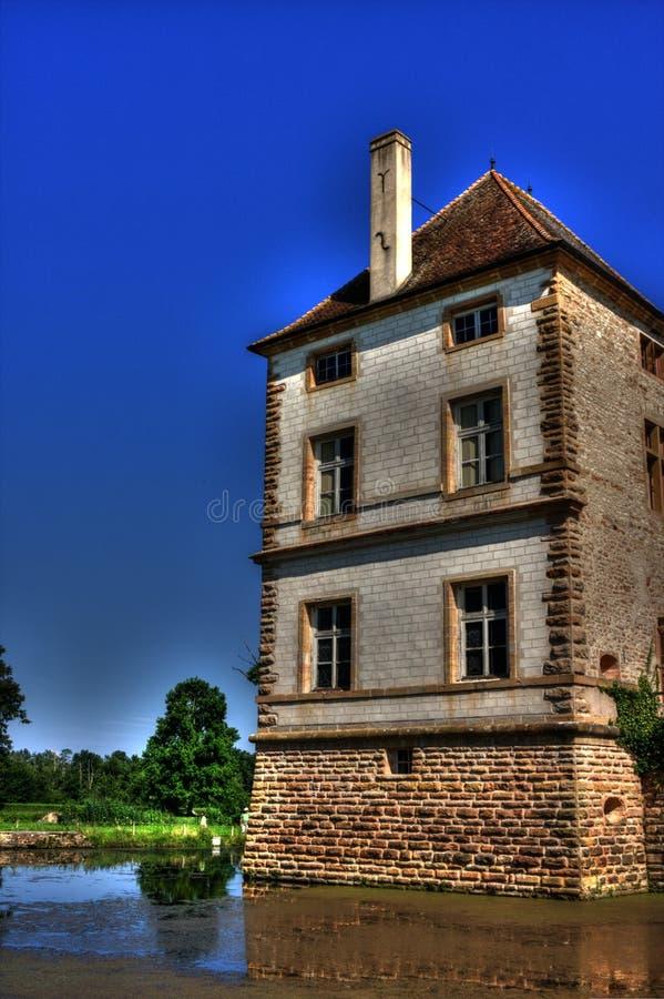 Chateau (Schloss) de Cromatin lizenzfreie stockbilder
