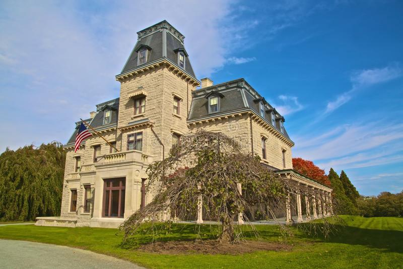 Chateau Sur Mer mansion stock photography