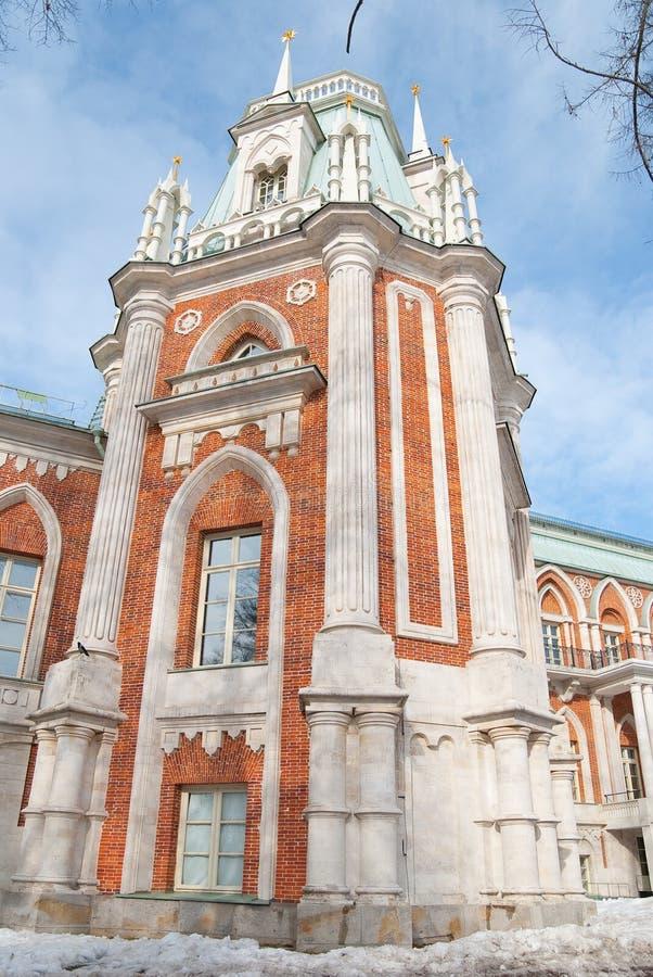 Chateau Tsaritsyno stock foto's