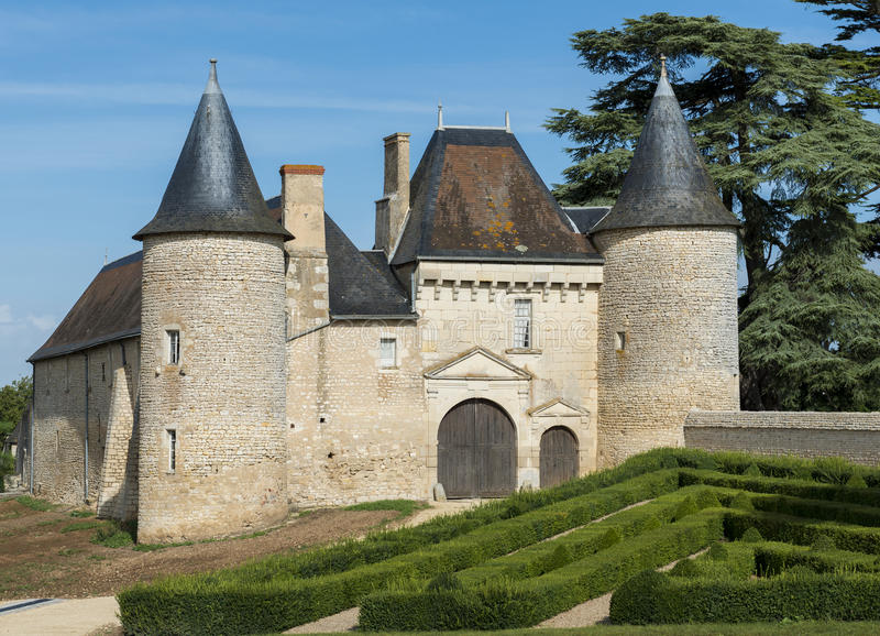 Chateau Vayres lizenzfreie stockfotografie