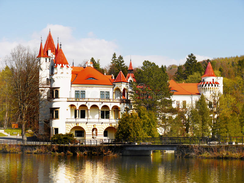 Chateau Zinkovy, Hotel Apartments stock images