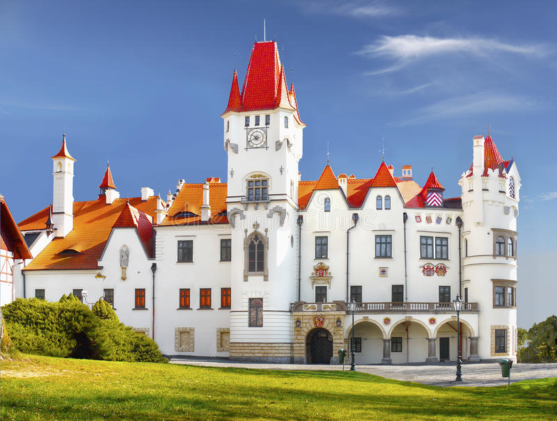 Chateau Zinkovy, Hotel Apartments royalty free stock photography