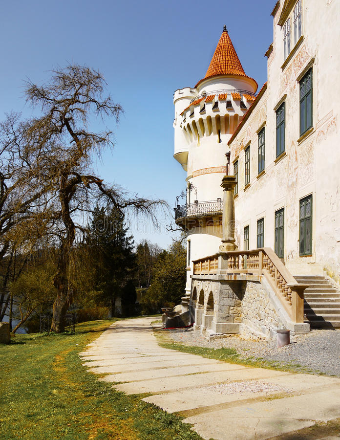 Chateau Zinkovy, Hotel Apartments royalty free stock images