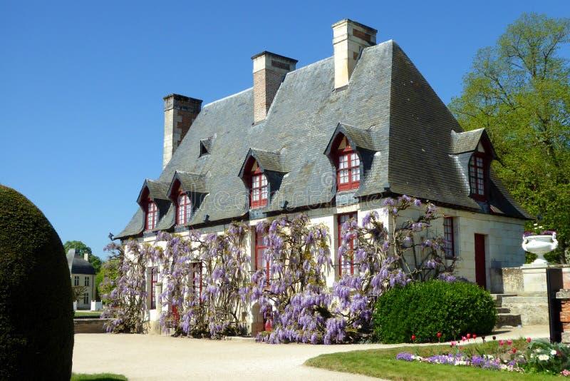 chateauchenonceau de france royaltyfri foto