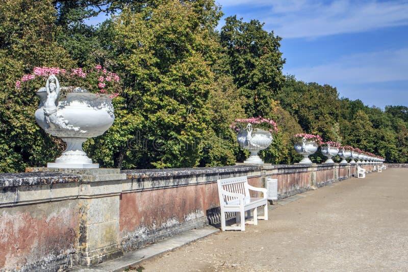 chateauchenonceau de france Loire Valley arkivbild