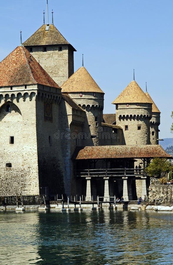chateauchillon royaltyfri fotografi